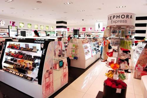 丝芙兰化妆品专卖店