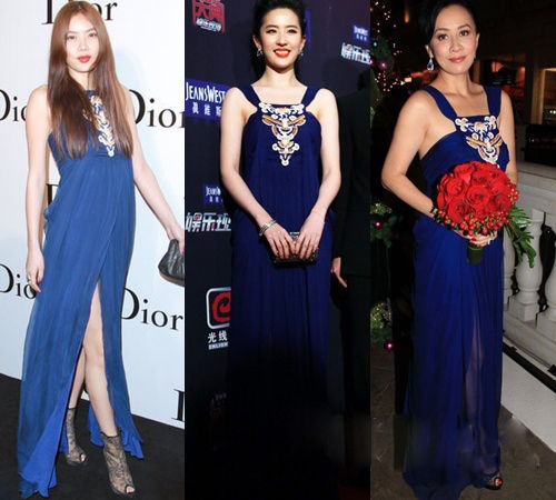 乐基儿(3月29日)、刘亦菲(3月28日)、刘嘉玲(11年11月)