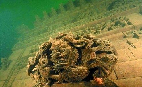 千岛湖水下藏古城 机器人将参与直播