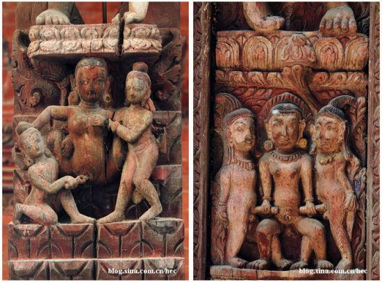 数以万计的性交姿态铸刻于木雕之上