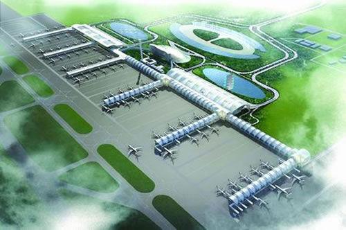 宜宾五粮液机场初步效果图