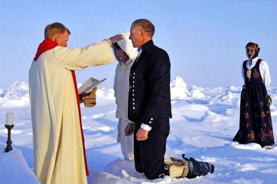 全世界第一场北极婚礼