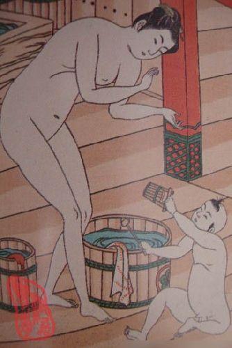 混浴传统由来已经