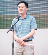 安徽省教育招生考试院副院长邬平川致辞