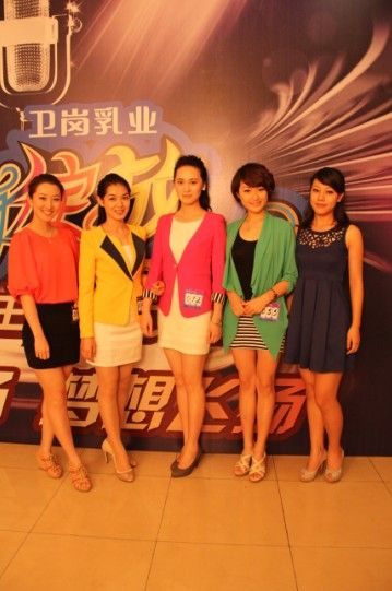 2012安徽广播电视台主持人大赛成都站海选落