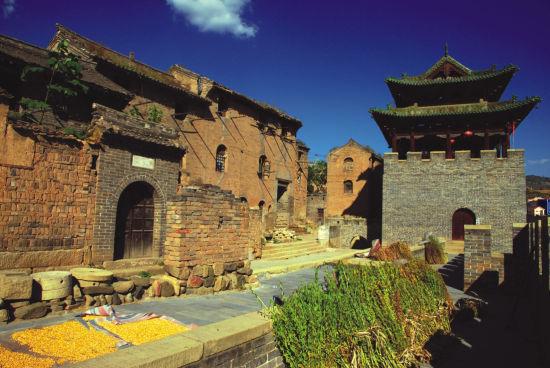 探访山西古城堡图片