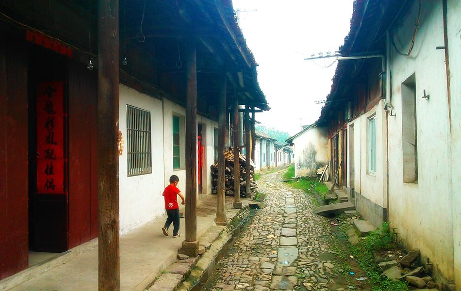 毛坦厂明清老街(图片来自:六安人论坛)