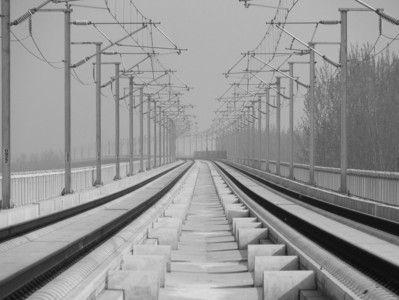 已经建成的合蚌铁路部分线路