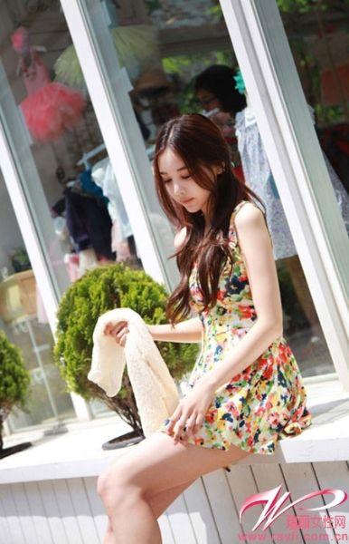 韩国第一网络美女道晖芝带你穿遍淘宝款