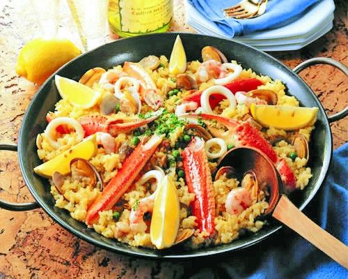 西班牙婚礼必备美食 海鲜饭