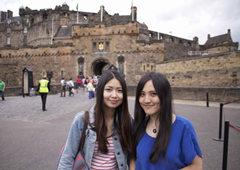 爱丁堡城堡门口