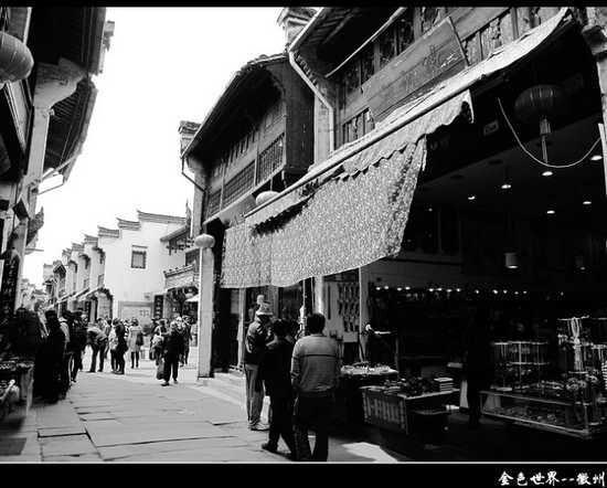 老街店铺 密集紧凑