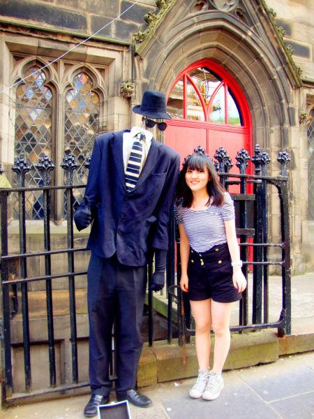 爱丁堡街头艺人