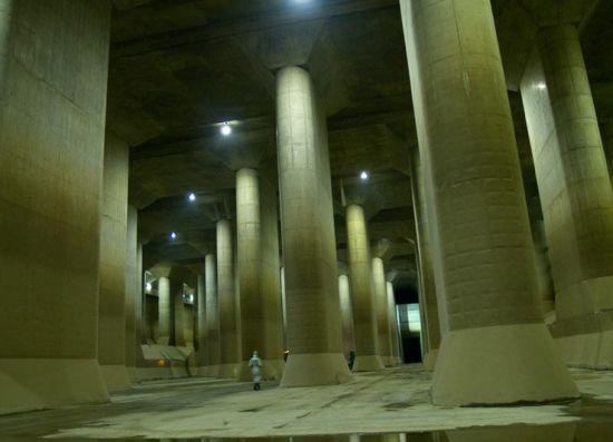 东京下水道深达60米