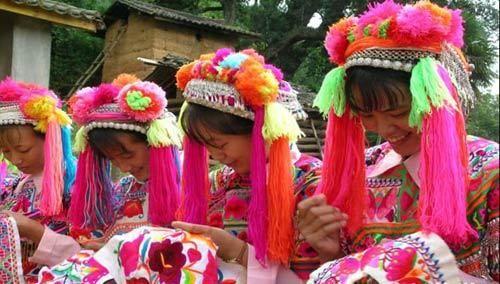 云南彝族姑娘