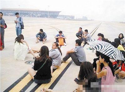 没赶上飞机回重庆的