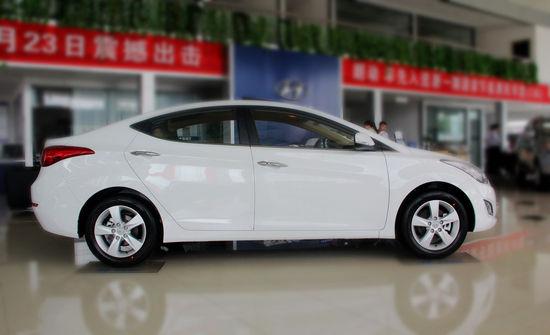北京现代1.6L DLX AT实拍