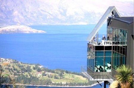 新西兰天空缆车餐厅