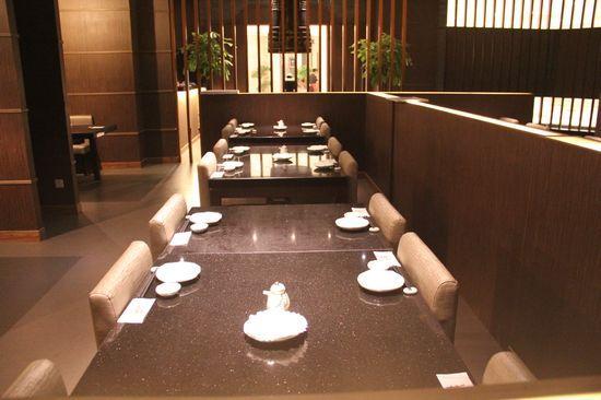 优雅的餐厅环境