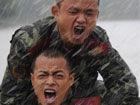 安徽武警雨中反恐大演练