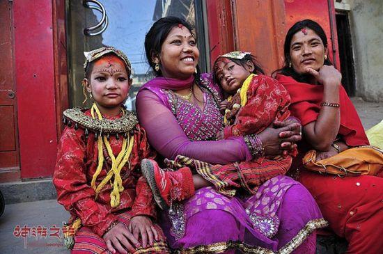 尼泊尔女子