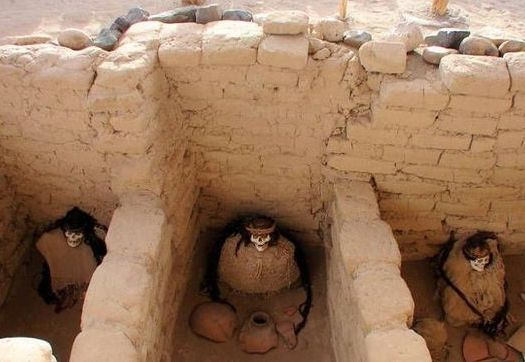 秘鲁Chauchilla墓地