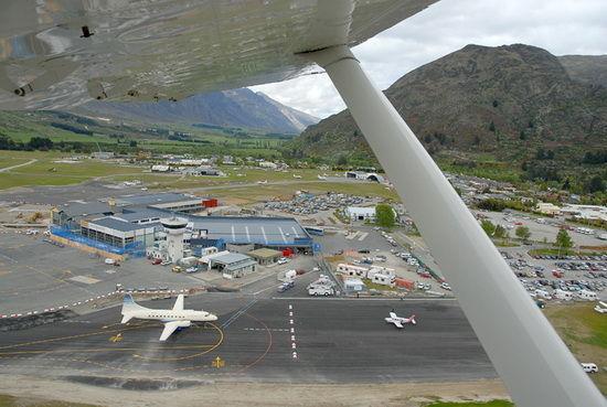 新西兰皇后镇机场