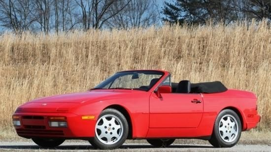 1991 Porsche 944 S2 Cabriolet, chassis WP0CB2949MN440106