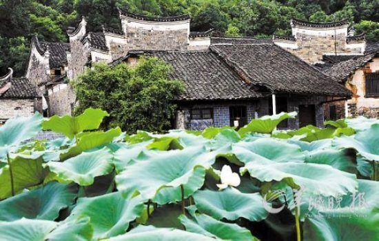 湖南郴州永兴县板梁古村内古建筑保存完好