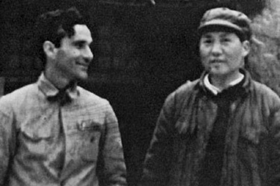 埃德加·斯诺与毛泽东