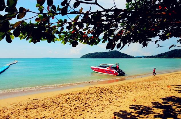 热带岛屿风光――帝王岛