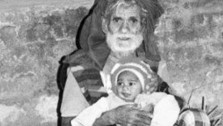 印度96岁农民再度得子 两年前大儿子出生