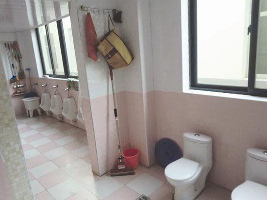 湖北荆州一幼儿园男女同厕 女孩回家站着小便