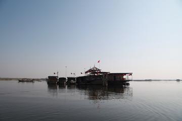淮南市焦岗湖渔民村