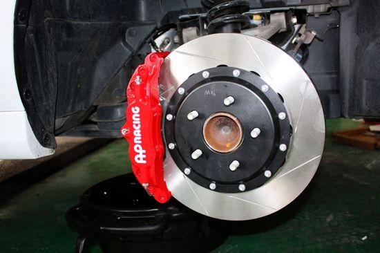 马自达MX5刹车轮毂升级