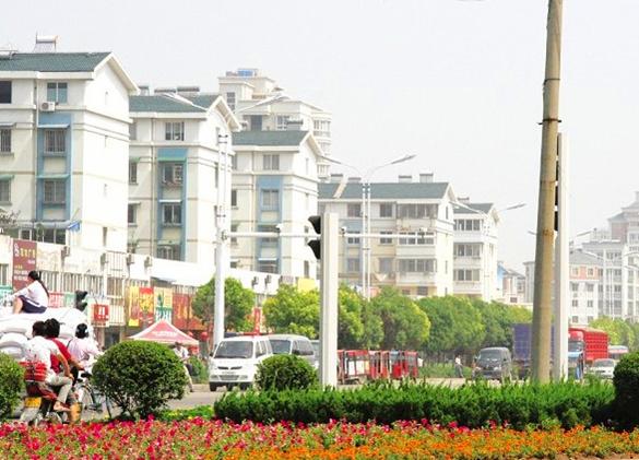 怀远县何巷村