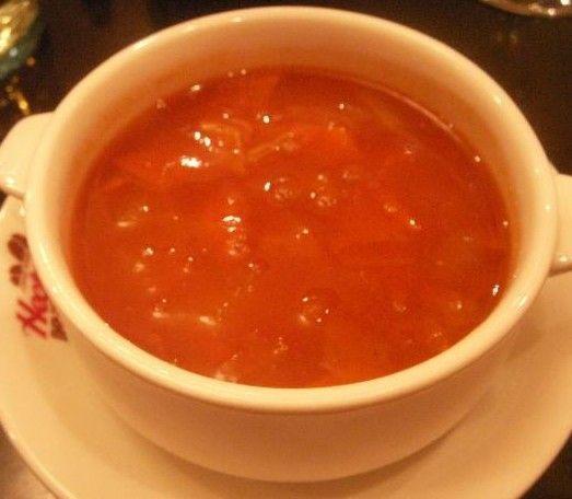 冷热两吃的俄罗斯罗宋汤