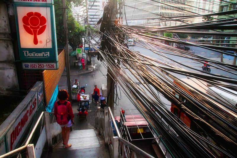 泰国稠密电线