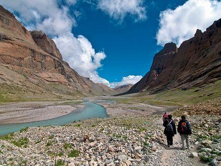 西藏冈仁波齐山朝圣路