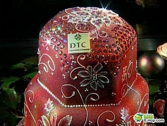钻石水果蛋糕