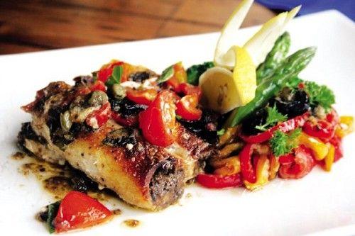 西西里式鱼柳卷
