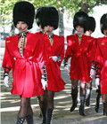 伦敦街头的性感卫兵