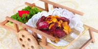 桂花双芋卷