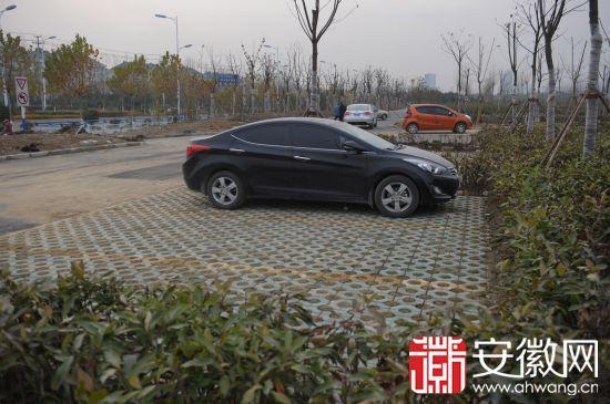 安徽网讯 记者下午从合肥市野生动物园正在新建的南大门和停车场施工