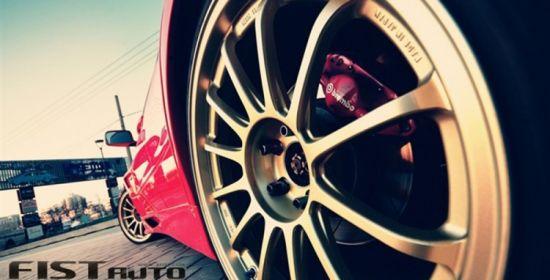 改装实例:三菱EVO 9代的红色风暴_合肥车市_