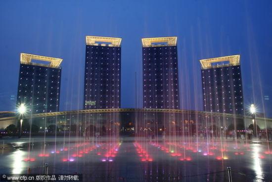 2010年6月5日,浙江省湖州市,湖州市长兴县县政府大楼。 CFP