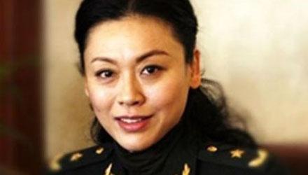 盘点中国军队美女将军(组图)