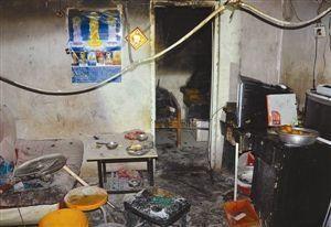 一把火除了想掩盖犯罪事实,也把家烧毁了。