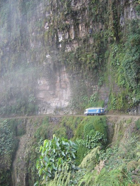 北永加斯路,永加斯,玻利维亚