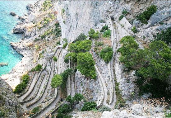克虏伯小径,卡普里岛,意大利